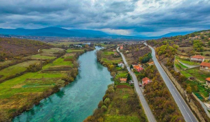 Fluss Cetina nahe Sinj © Courtesy of the Ne daj se, Cetino! - Spasimo Peruću i Cetinu od termoelektrane! Facebook group