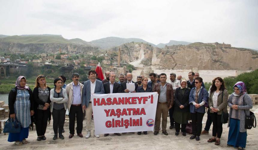 Global Sur and Hasankeyf Action Day in Hasankeyf © Hasankeyf'i Yasatma Girisimi