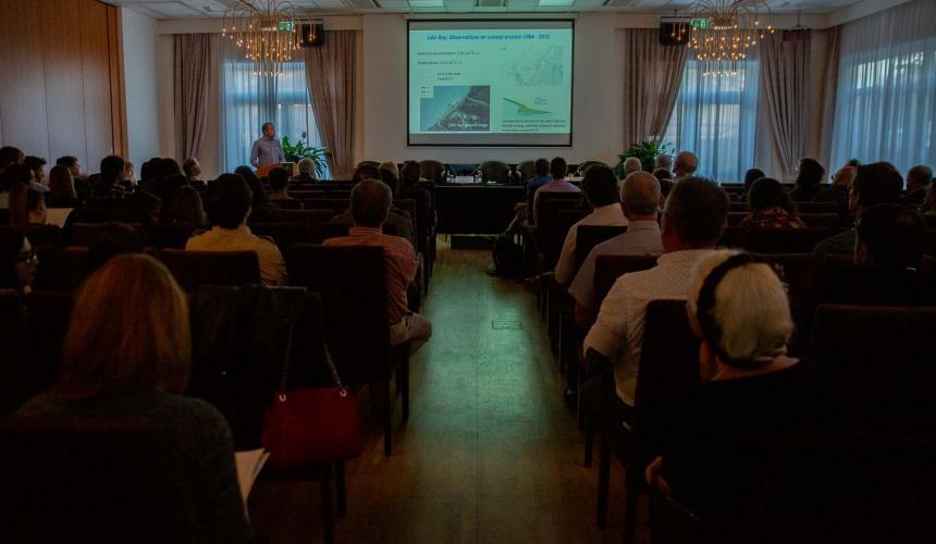 Das International Wild Rivers Science Symposium wurde von der Universität Tirana in Zusammenarbeit mit der Universität Wien organisiert. © Becky Holladay