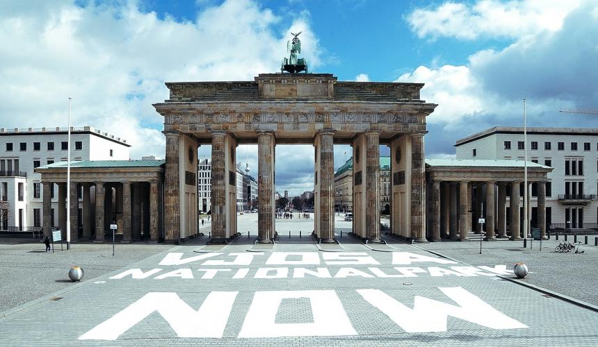 Brandenburger Tor in Berlin/Deutschland © Paul Buske