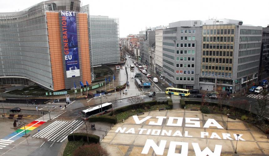 EU Commission in Brussels/Belgium © Alexander Louvet/Powershoots