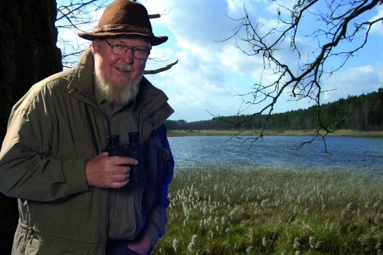 Prof. em. Dr. Michael Succow unterstützt den Vjosa Nationalpark © Michael Succow Stiftung