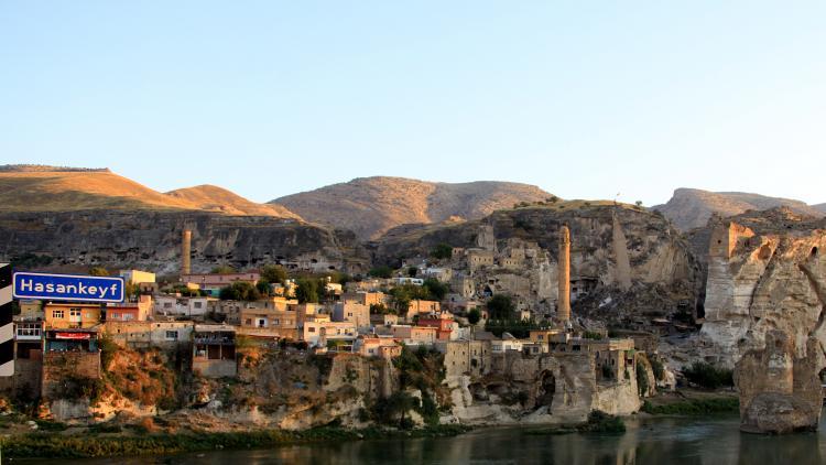 Hasankeyf - die Wiege unserer Zivilisation - wird für den Ilisu-Staudamm zerstört. ©  Annette Bender