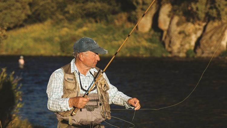 Patagonia founder Yvon Chouindard is an avid fisherman © Jeremy Koreski