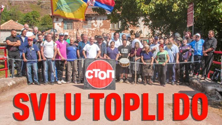 "Solidaritätswache: ""Alle nach Topli Do!"" © Dusan Bodiroga"