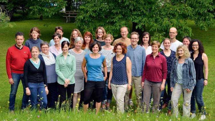 Das Team bei EuroNatur sucht Verstärkung für das Blaue Herz! © Gerald Jarausch