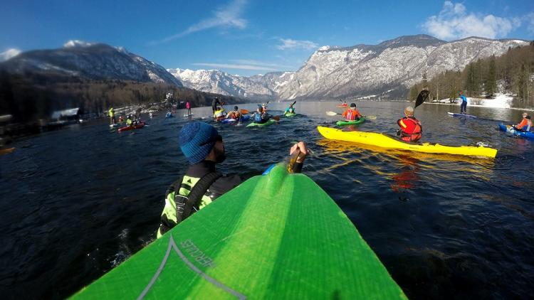 From Sava to Vjosa: Kayakers from all over Europe will paddle 16 threatened rivers in 6 Balkan countries © Rok Rozman