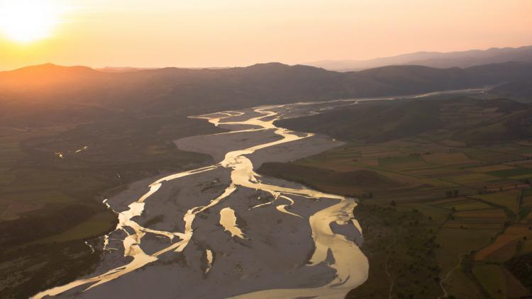 Vjosa River, Albania. Photo:Roland Dorozhani