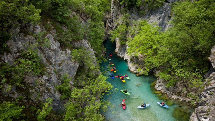 Valbona, Albania: even though this river is located inside a national park, hydropower projects on this river are in the pipeline. A total of 113 hydropower plants are projected to be built in national parks in the Balkans. © Jan Pirnat