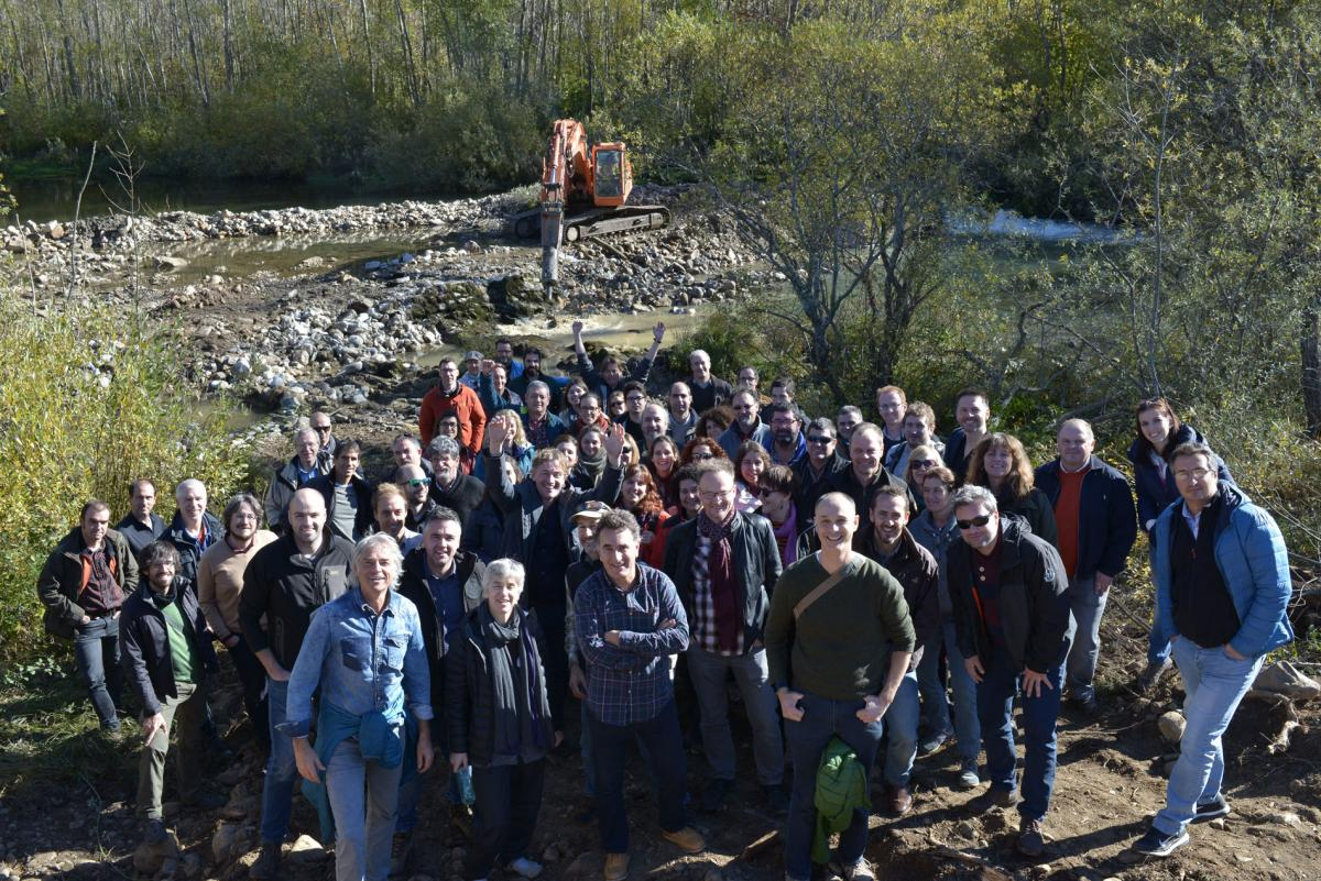 Participants of the Dam Removal workshop in Leon, Spain, 2016 © EU Dam Removal