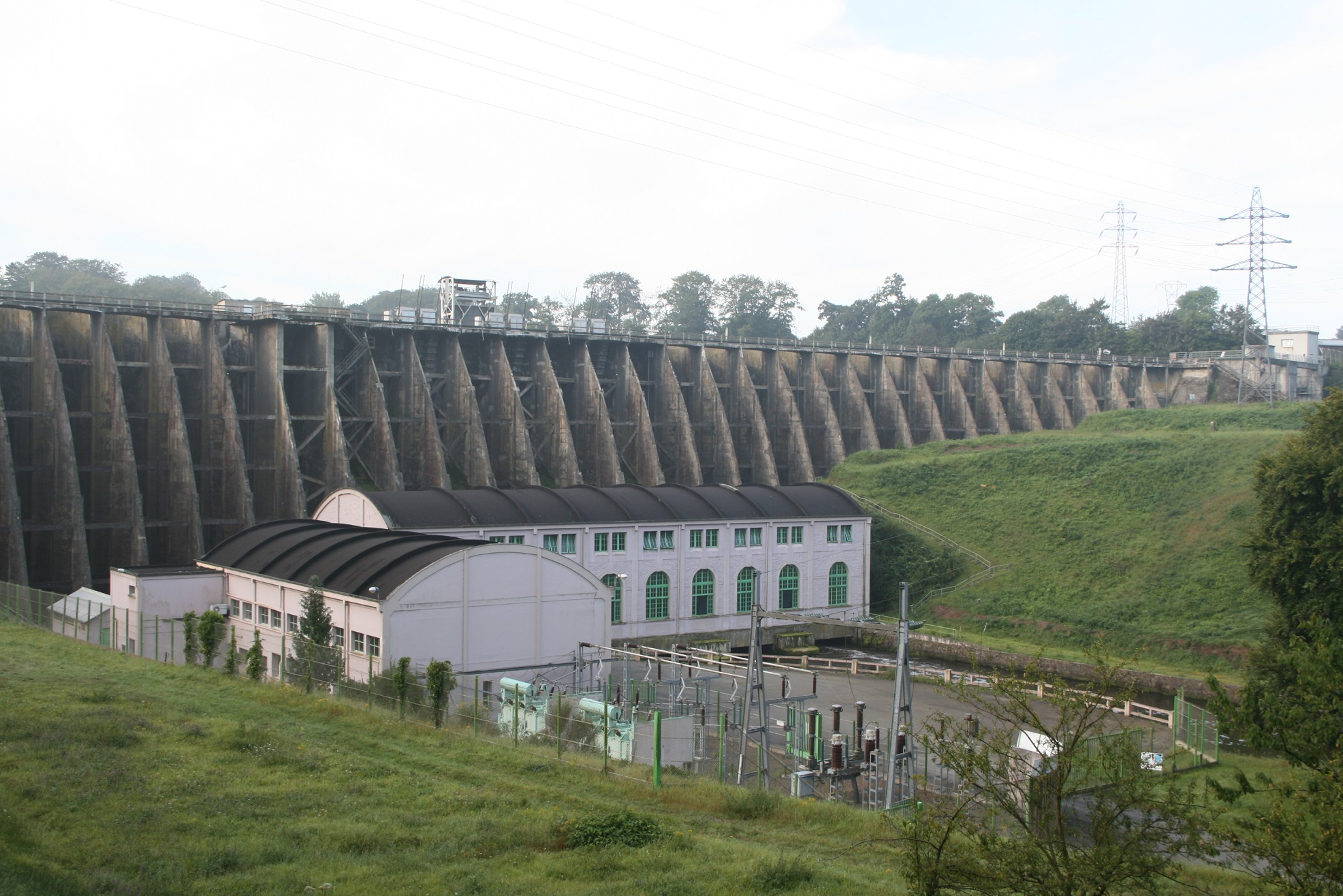 The days of Dam Vezin are numbered – this is going to be the biggest dam removal project in Europe © JP Doron