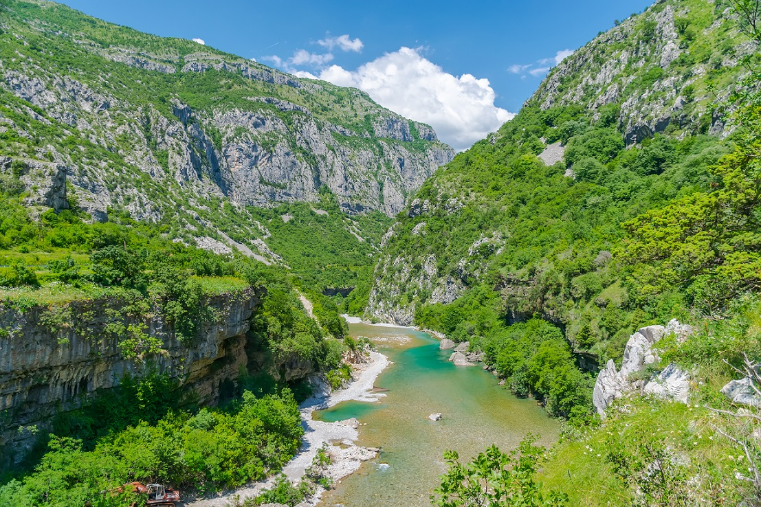 The Morača in Montenegro is one of the most valuable rivers in Europe for fish and other organisms. According to the Eco-Masterolan, her entire course should be a designated No-go area for hydropower development. © Sergey Lyashenko