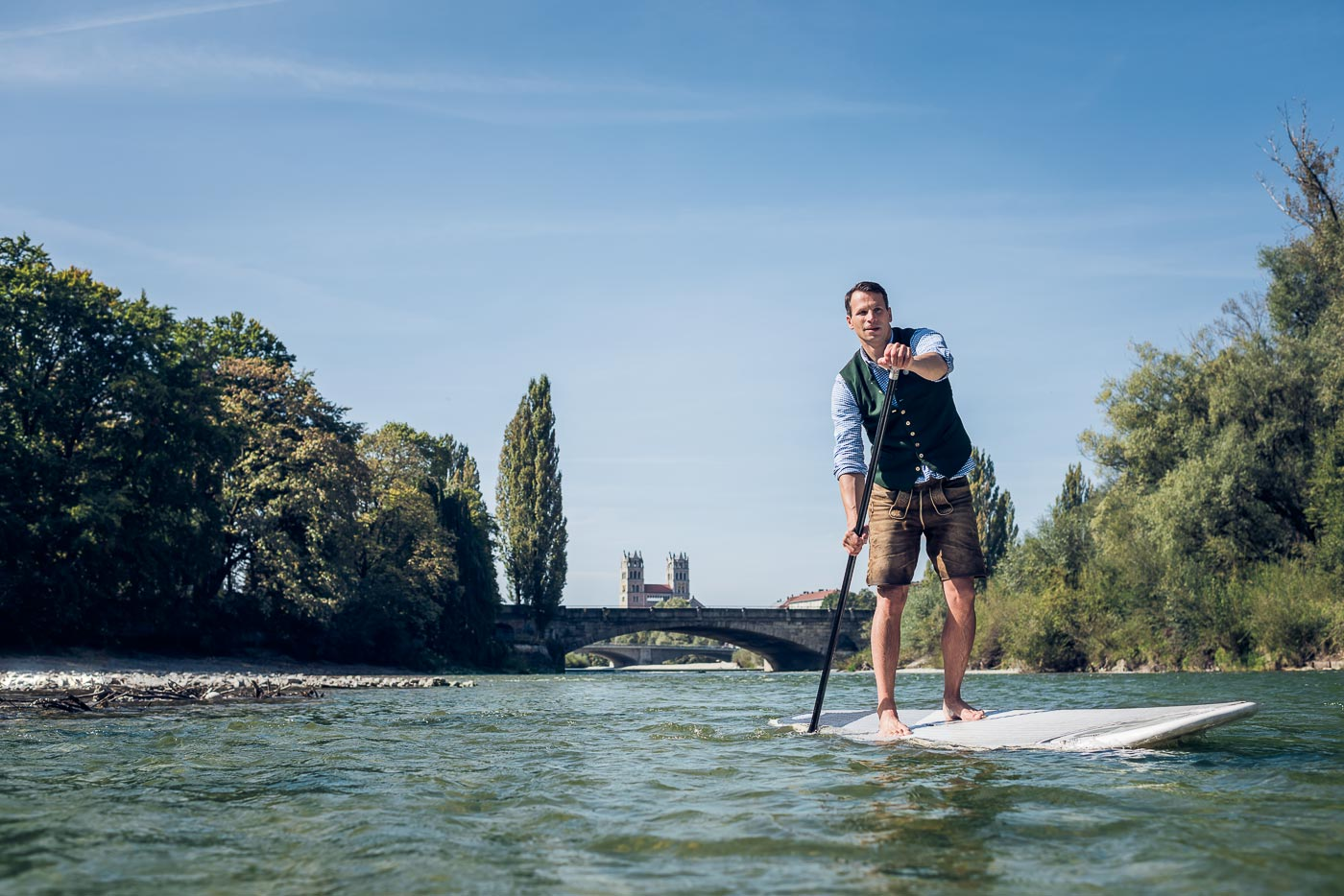 500 Flusskilometer für die Natur © Christian Brecheis